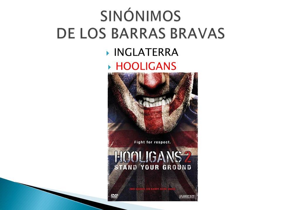 INGLATERRA HOOLIGANS
