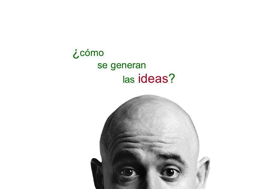 ¿ cómo se generan las ideas