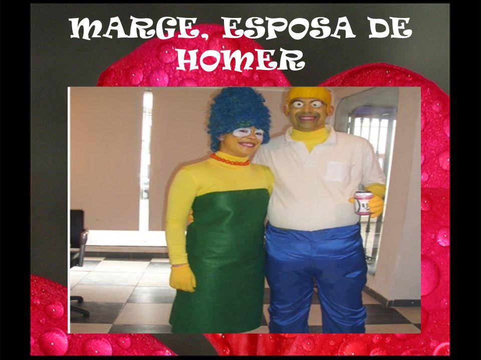 MARGE, ESPOSA DE HOMER