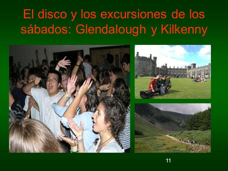 11 El disco y los excursiones de los sábados: Glendalough y Kilkenny