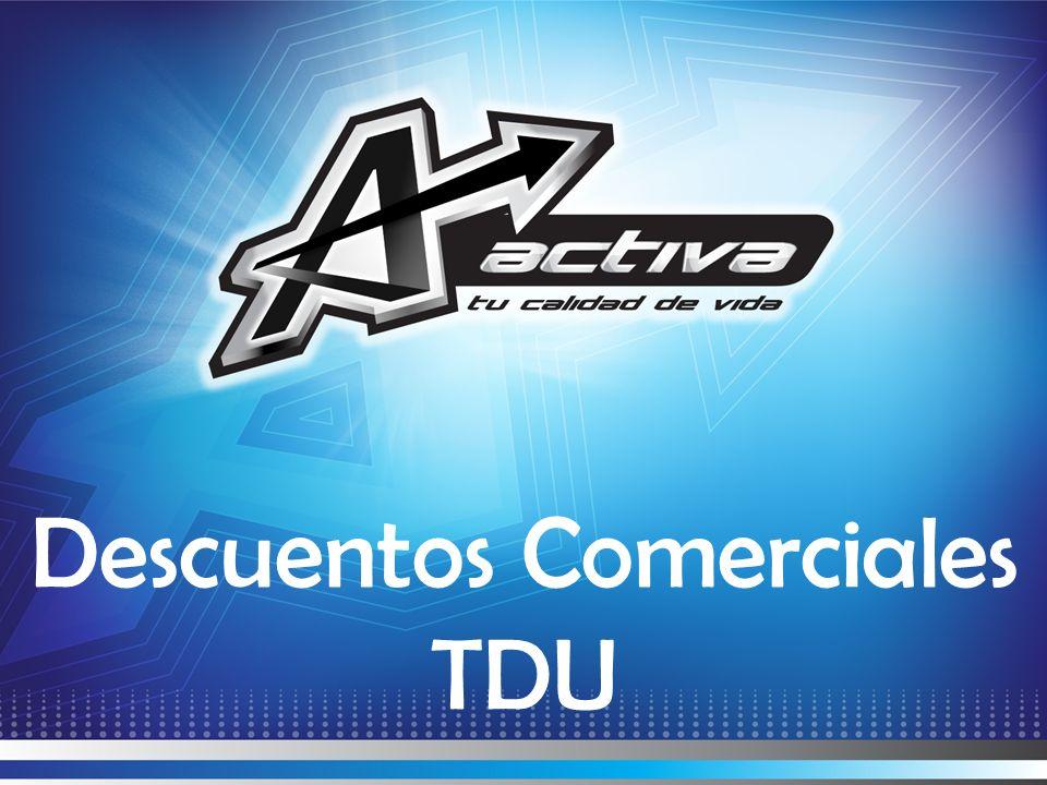 Descuentos Comerciales TDU