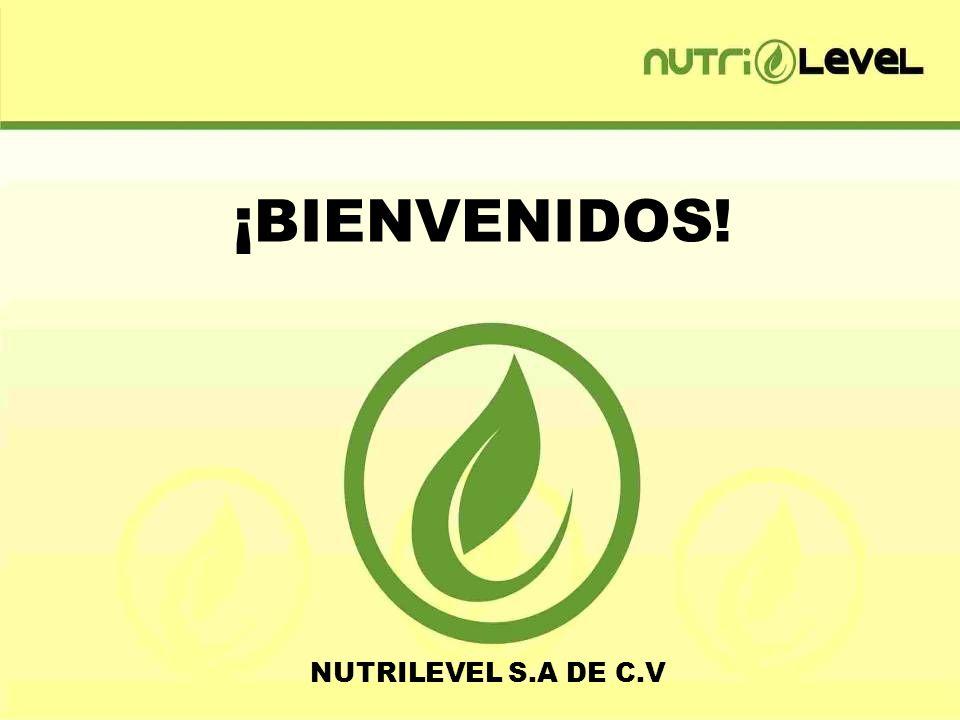 ¡ BIENVENIDOS! NUTRILEVEL S.A DE C.V