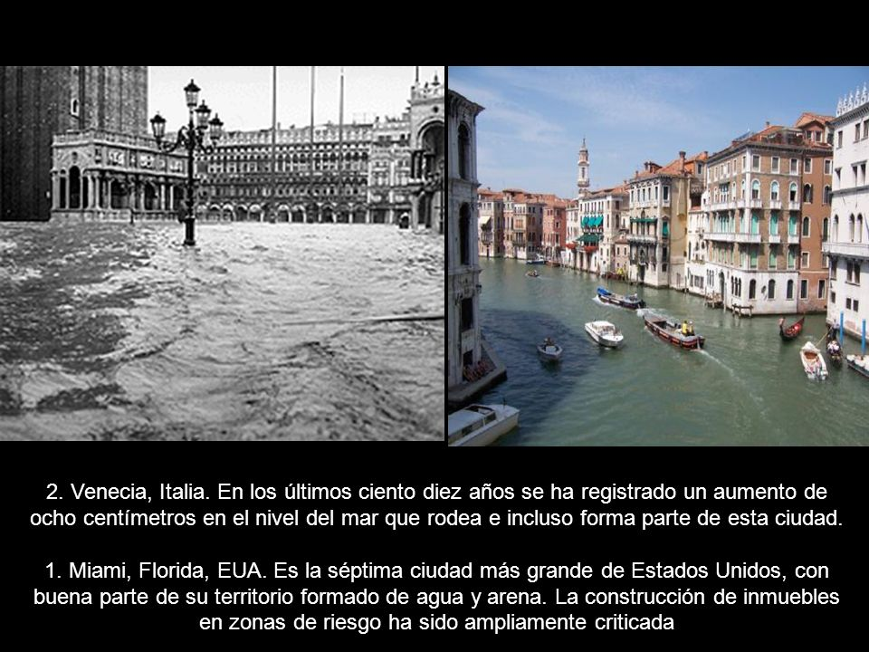 2.Venecia, Italia.