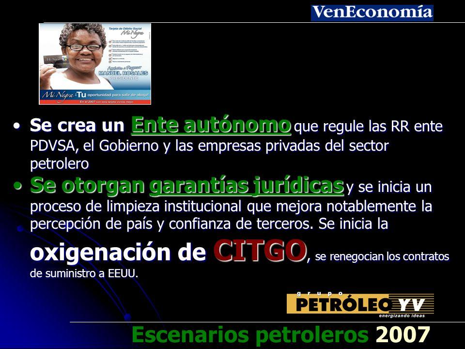 Se inicia la renegociación de los acuerdos energéticos de Caracas y se suspende el suministro a Cuba por fundamentarse en un convenio que es inconstitucional y no cumplió formalidades obligatoriasSe inicia la renegociación de los acuerdos energéticos de Caracas y se suspende el suministro a Cuba por fundamentarse en un convenio que es inconstitucional y no cumplió formalidades obligatorias Se recupera el parque refinador y se auditan los yacimientos.