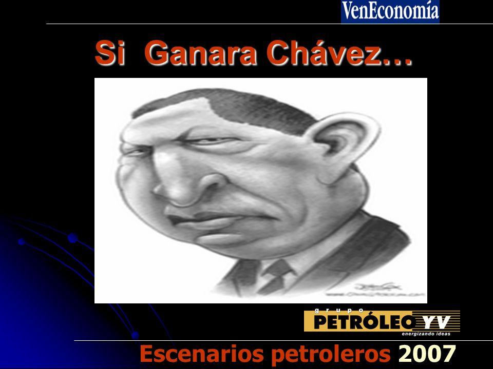 Si Ganara Chávez… Si Ganara Chávez… Escenarios petroleros 2007