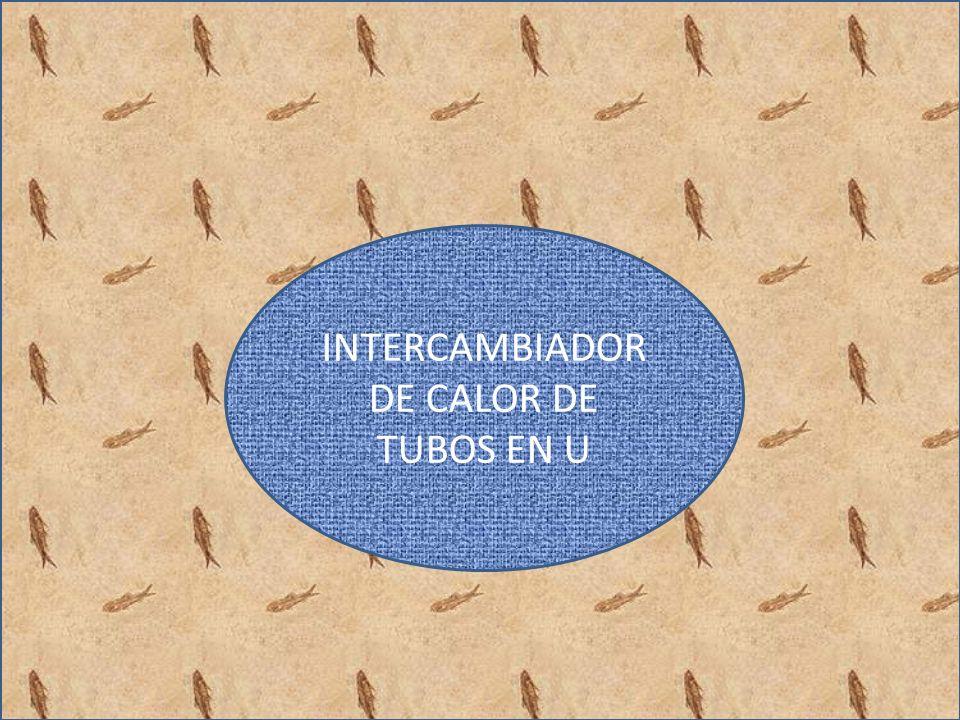 INTERCAMBIADOR DE CALOR DE TUBOS EN U