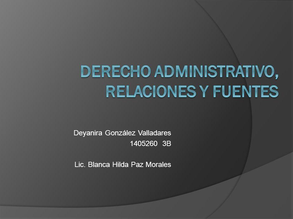 Deyanira González Valladares 1405260 3B Lic. Blanca Hilda Paz Morales