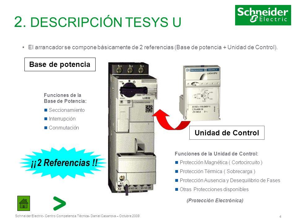 Schneider Electric 15 - Centro Competencia Técnica- Daniel Casanova – Octubre 2009 3.