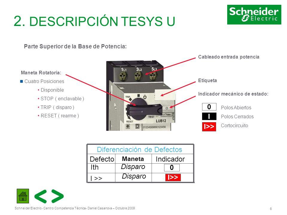Schneider Electric 17 - Centro Competencia Técnica- Daniel Casanova – Octubre 2009 3.