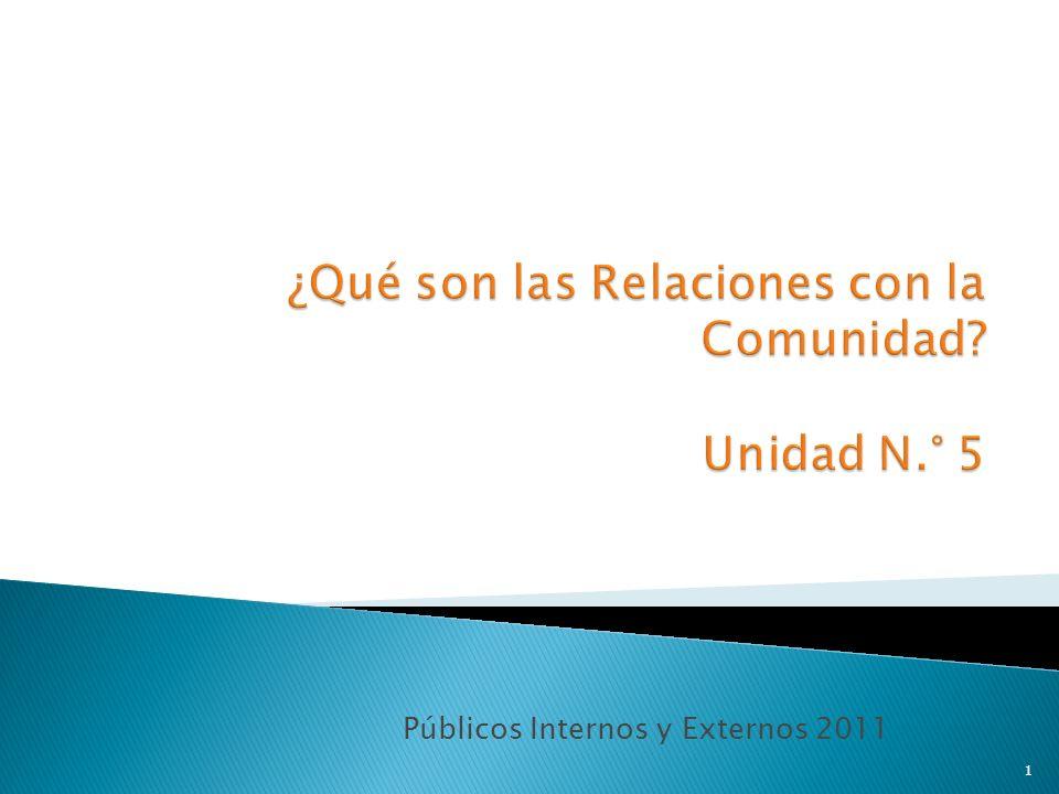Públicos Internos y Externos 2011 1