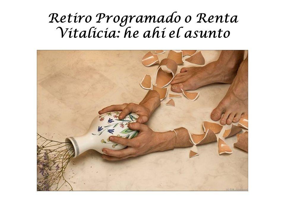 Retiro Programado o Renta Vitalicia: he ahí el asunto