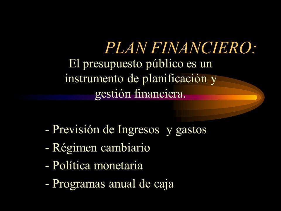 DECRETO LEY 111/1996 Estatuto Orgánico del Presupuesto en Colombia El Presupuesto Público esta constituido por: - Un plan financiero - Un plan operati