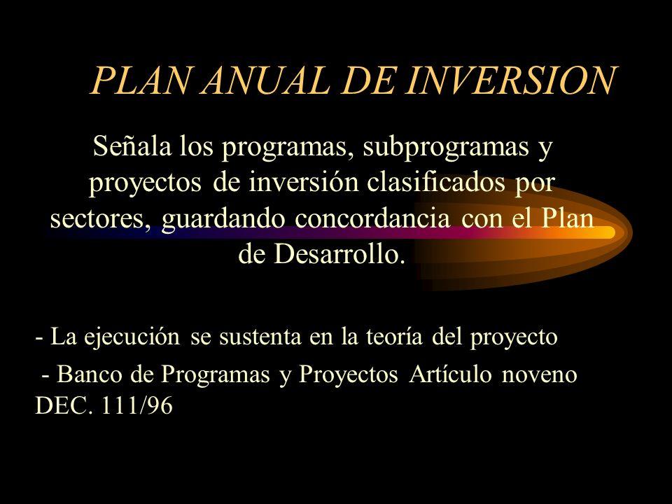 PLAN FINANCIERO: El presupuesto público es un instrumento de planificación y gestión financiera. - Previsión de Ingresos y gastos - Régimen cambiario