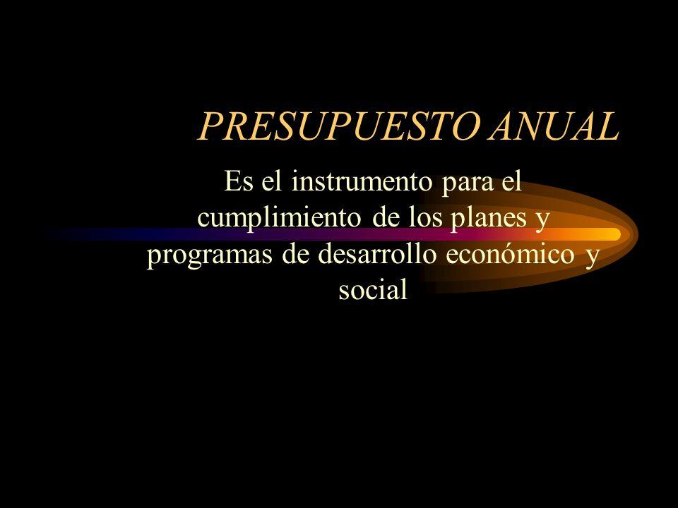 PLAN ANUAL DE INVERSION Señala los programas, subprogramas y proyectos de inversión clasificados por sectores, guardando concordancia con el Plan de D