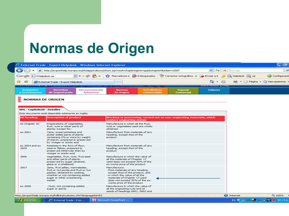 Normas de Origen