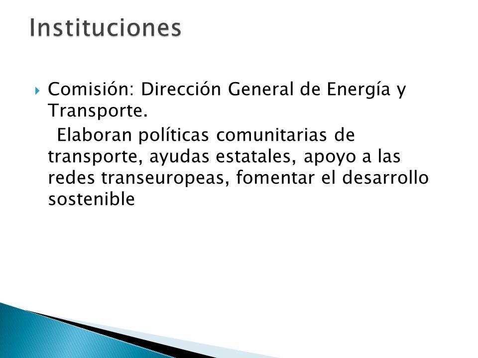 Comisión: Dirección General de Energía y Transporte.