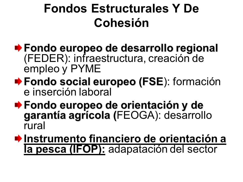 Fondos Estructurales Y De Cohesión Fondo europeo de desarrollo regional Fondo europeo de desarrollo regional (FEDER): infraestructura, creación de emp