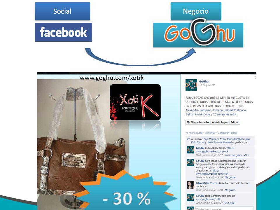 Negocio Social www.goghu.com/xotik