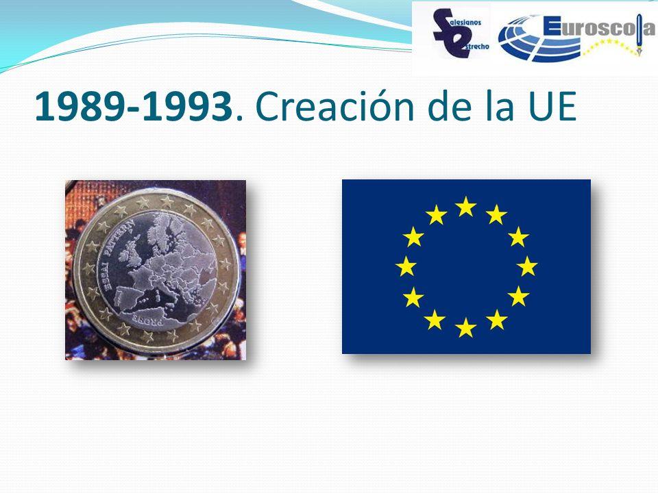 1989-1993. Creación de la UE