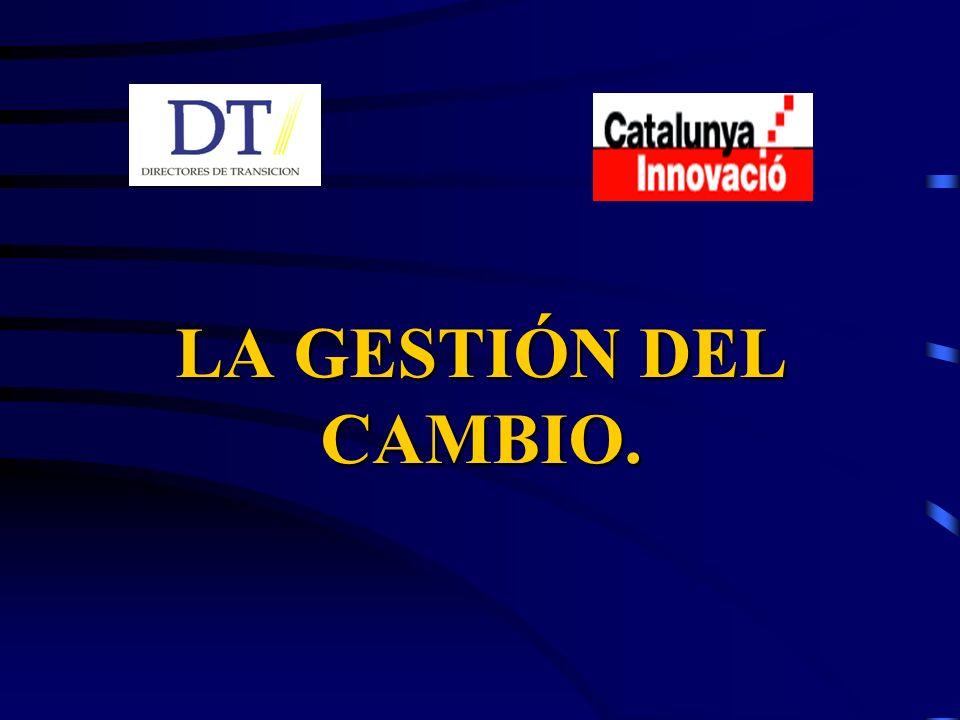LA GESTIÓN DEL CAMBIO.