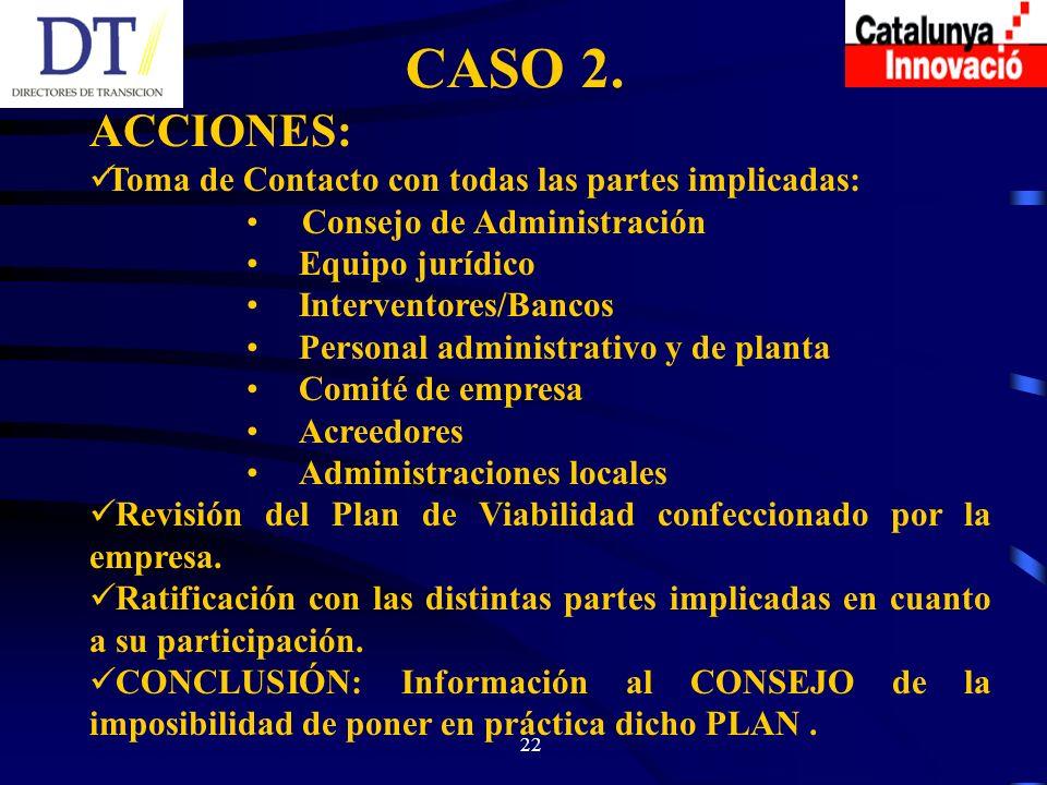 22 CASO 2.