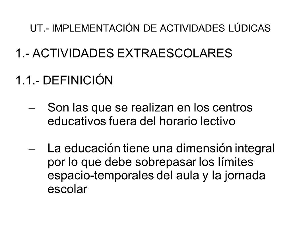 UT.- IMPLEMENTACIÓN DE ACTIVIDADES LÚDICAS - 2.2.6: - CUENTACUENTOS - LECTURAS DRAMATIZADAS - GUIÑOL