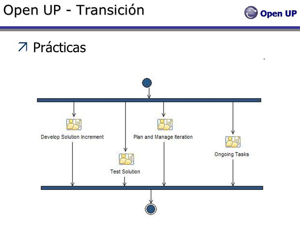 Open UP - Transición Prácticas
