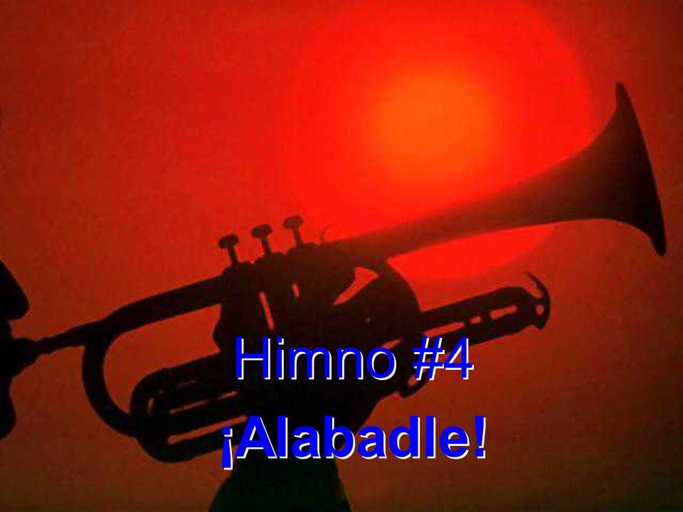1.¡Alabadle, fiel Salvador compasivo. ¡Canta, oh tierra, canta su magno amor.