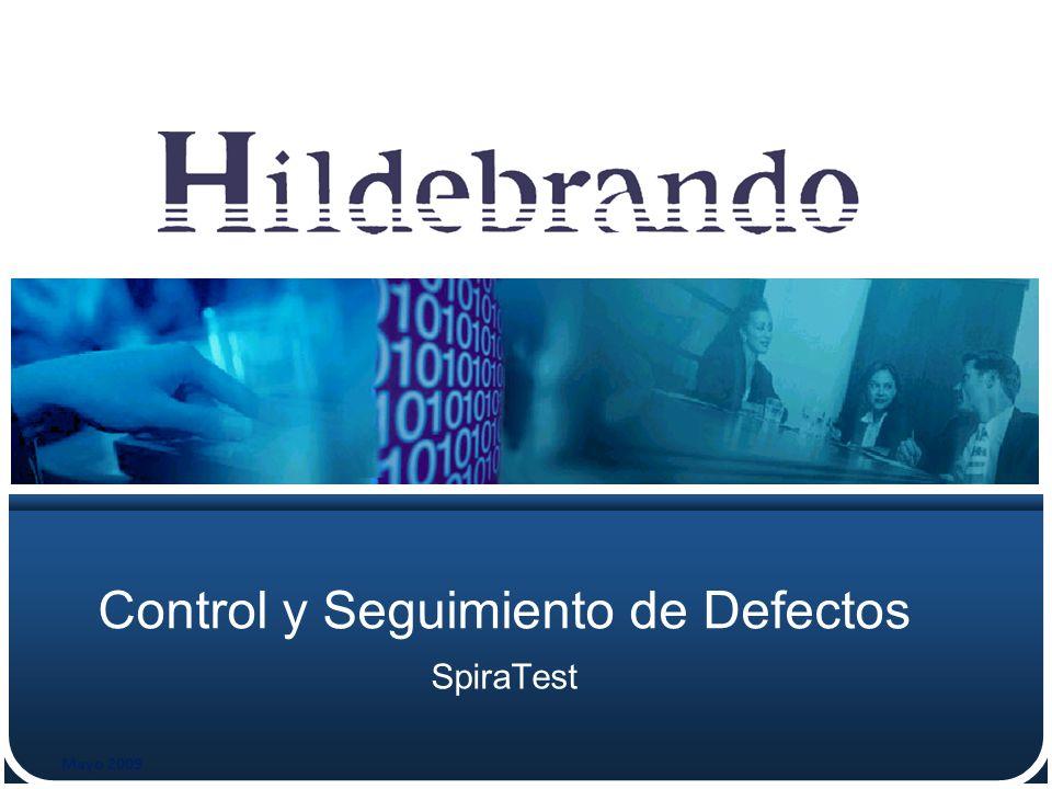 Control y Seguimiento de Defectos SpiraTest Mayo 2009