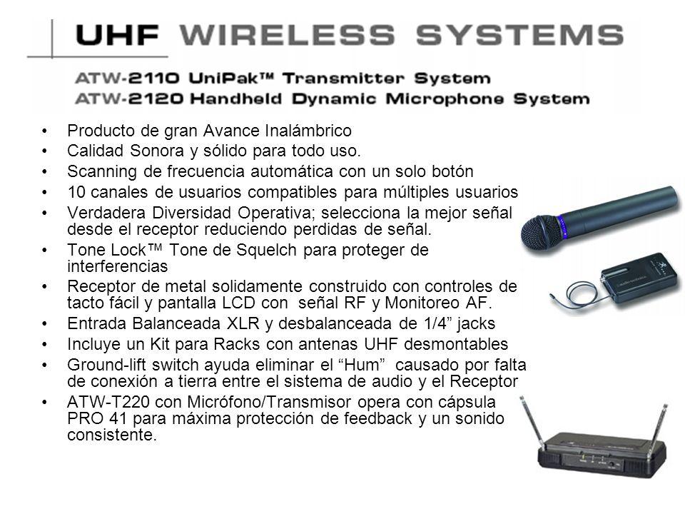 AT892 MicroSet de Audio Technica Máxima inteligibilidad y reproducción de voz natural.