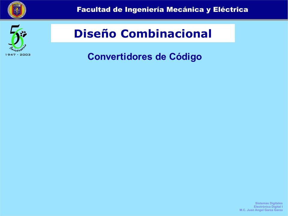Diseño Combinacional Convertidores de Código