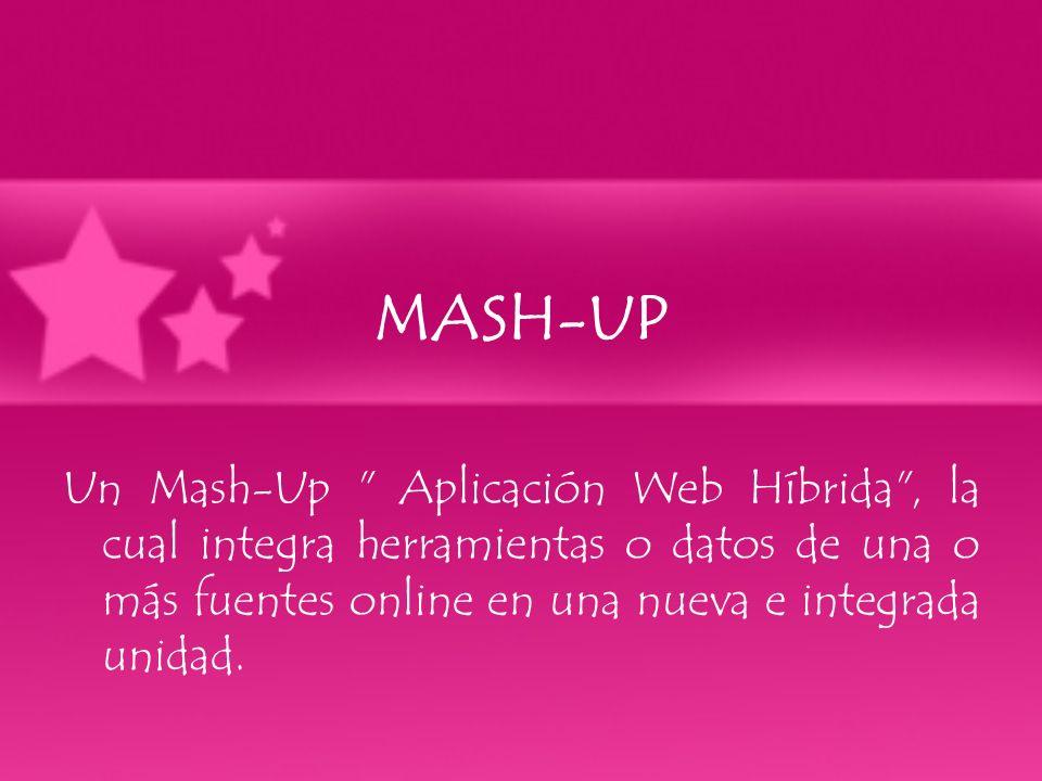MASH-UP Un Mash-Up