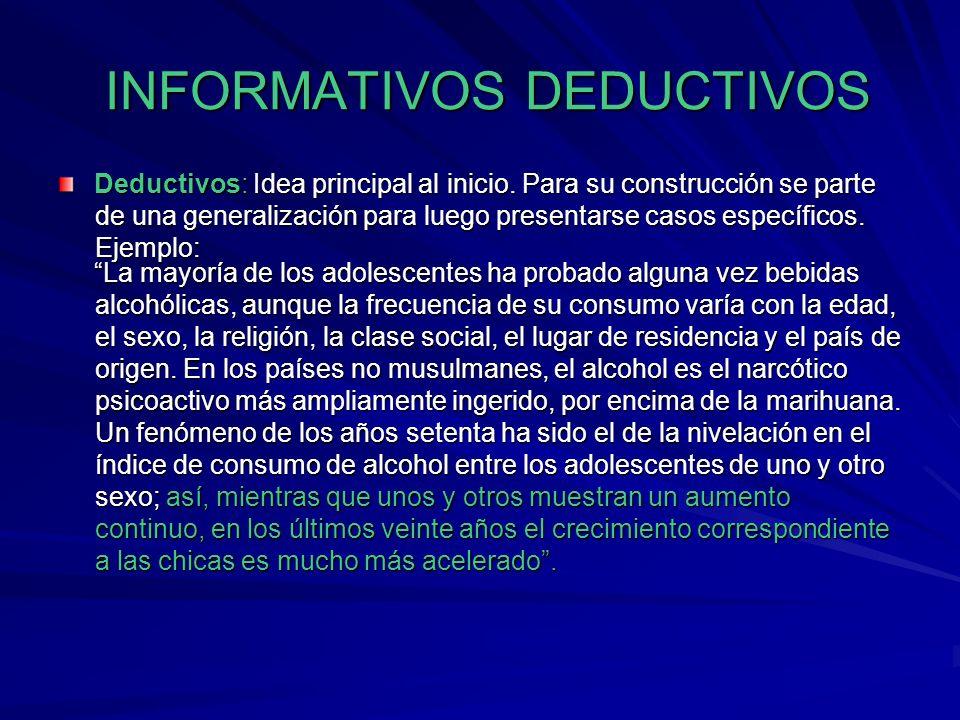TIPOS DE PÁRRAFOS FUNCIONALES Son párrafos que no llevan idea temática, pero que coadyuvan al desarrollo de estas, pueden ser de varias clases: Encabe