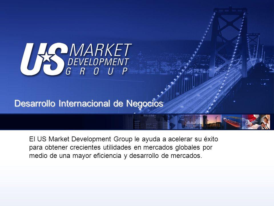 El US Market Development Group (USMDG) ayuda a las empresas a desarrollar oportunidades de mercado a nivel global.