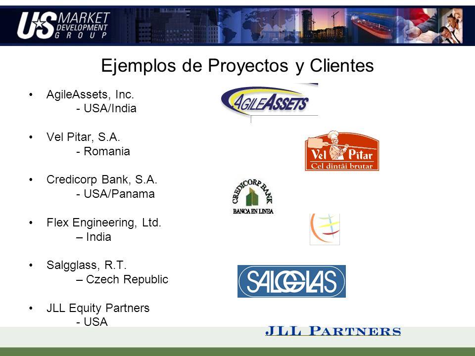 Ejemplos de Proyectos y Clientes AgileAssets, Inc.