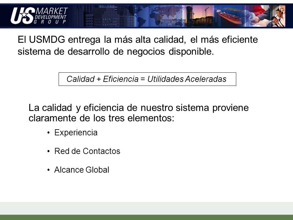 Servicios: Desarrollo Global de Mercados Estrategia y Planificación de Ingreso a Mercados Establecer Asociaciones Estratégicas Identificación de Comprador Clave Administración de Operaciones en el país Desarrollo de Distribuidor & Broker Investigación de Mercado Administración General de Operaciones en EE.UU.