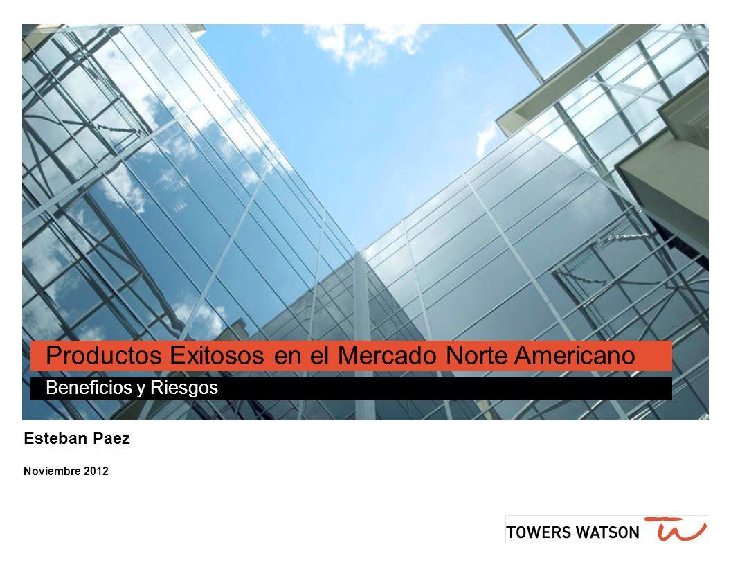 Esteban Paez Noviembre 2012 Productos Exitosos en el Mercado Norte Americano Beneficios y Riesgos