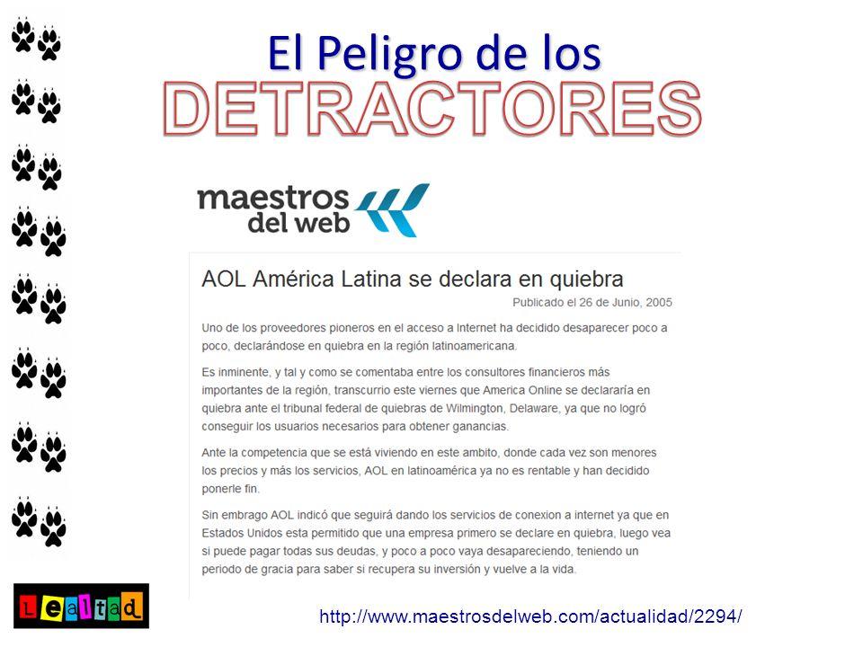 http://www.maestrosdelweb.com/actualidad/2294/ El Peligro de los