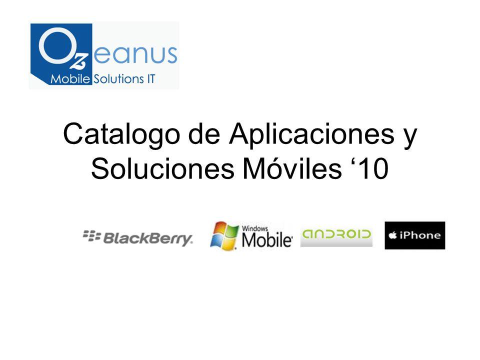 Catalogo de Aplicaciones y Soluciones Móviles 10