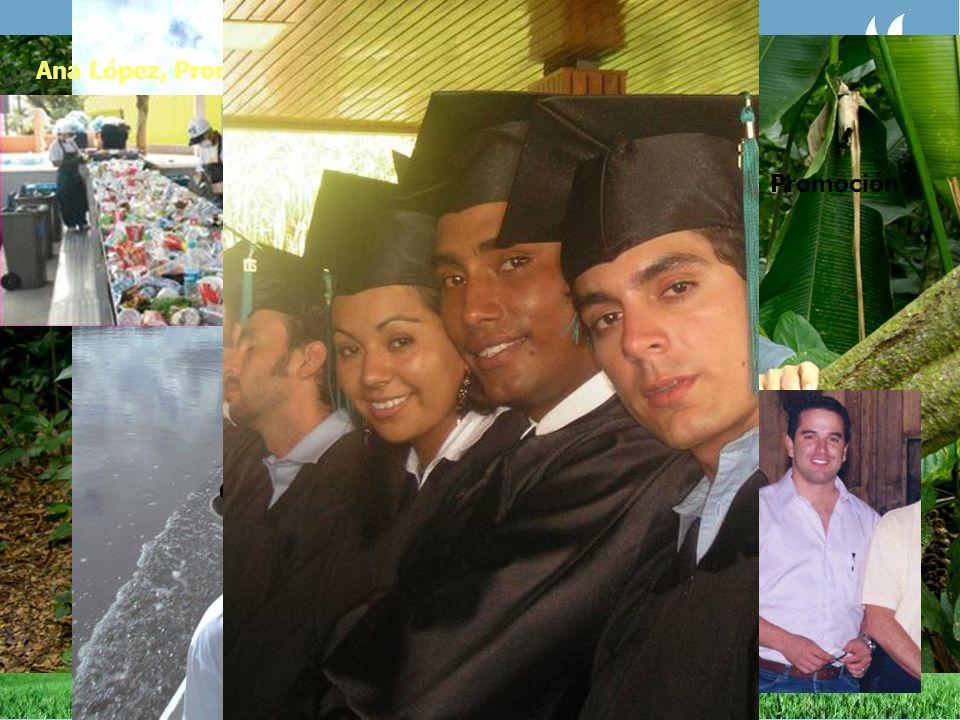 Grayton Tavares, Promoción 1997 Brasil Ana López, Promoción 2003 Costa Rica Gustavo Manrique, Promoción 1996 Ecuador