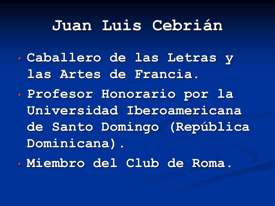Para más información sobre el autor, visitar los siguientes sitios Web: http://es.wikipedia.org/wiki/Juan_Luis_Cebri%C 3%A1n http://es.wikipedia.org/wiki/Juan_Luis_Cebri%C 3%A1n http://www.elpais.com/especiales/2001/elfuturo /cebrian.html http://www.elpais.com/especiales/2001/elfuturo /cebrian.html http://www.lacronicaespecializada.com/index.php ?option=com_content&task=view&id=349&Ite mid=59 http://www.lacronicaespecializada.com/index.php ?option=com_content&task=view&id=349&Ite mid=59