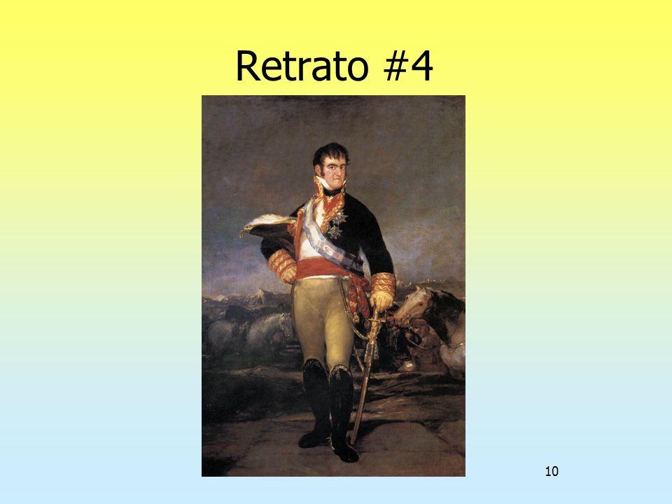 10 Retrato #4