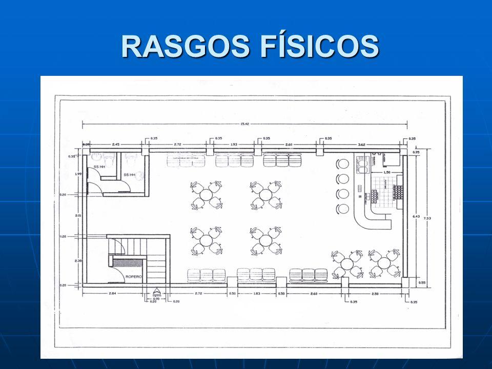 RASGOS FÍSICOS RASGOS FÍSICOS