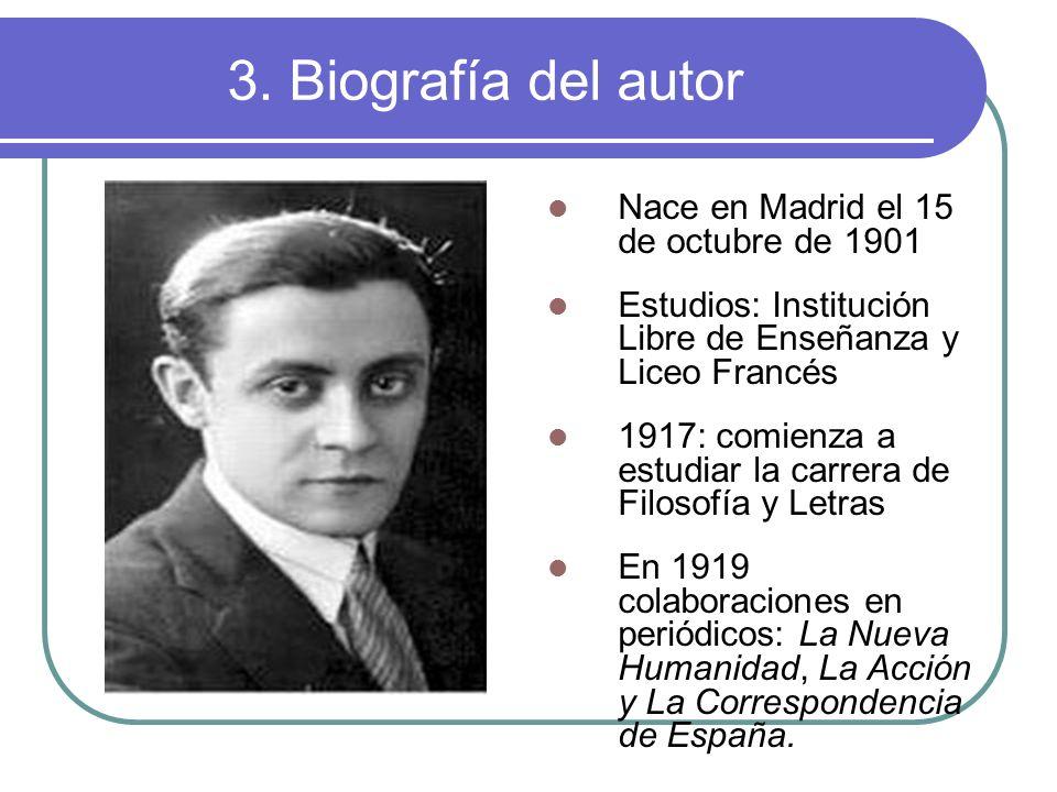 1921: colaboración en Buen Humor, una revista referente en el nuevo humorismo literario español 1923: publica sus dos primeras novelas cortas: El hombre a quien amó Alejandra y El infierno.