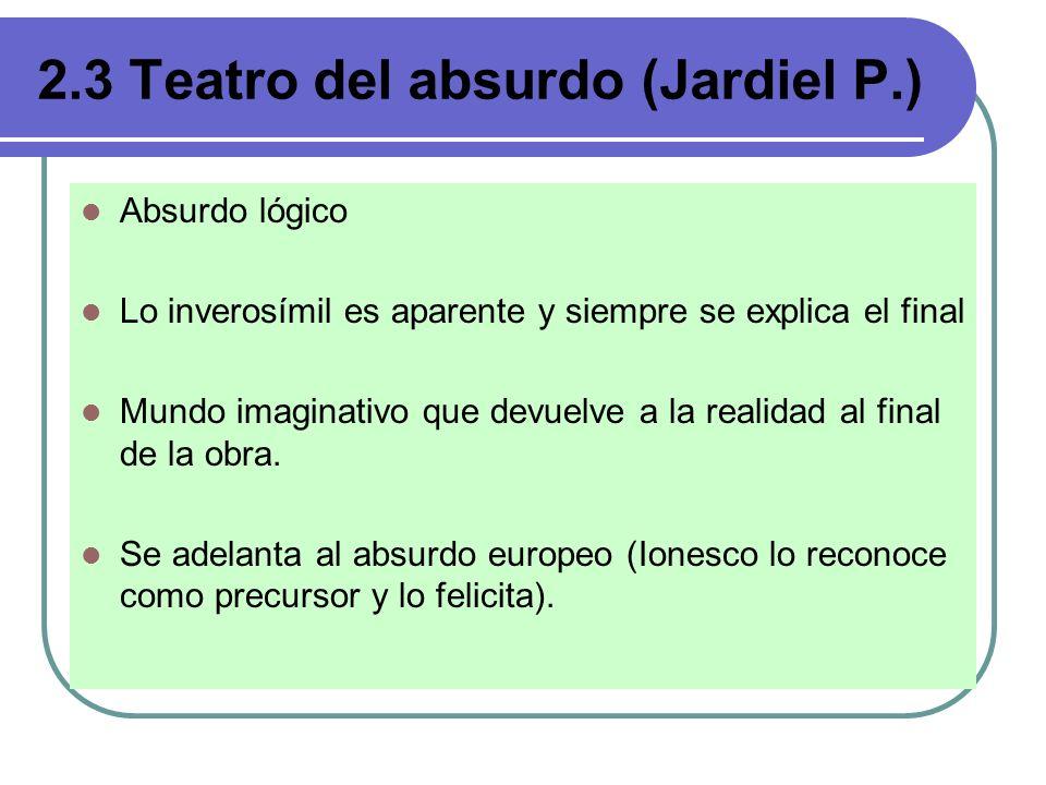 Recursos humorísticos del teatro del absurdo Parodia Equívoco Vulgarismo y regionalismos: Prólogo.