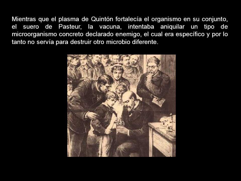En cambio, la teoría de la evolución atribuída a Darwin (copiada de Lamarck) y la Teoría de los Gérmenes de Pasteur (que en aquellos años competían in