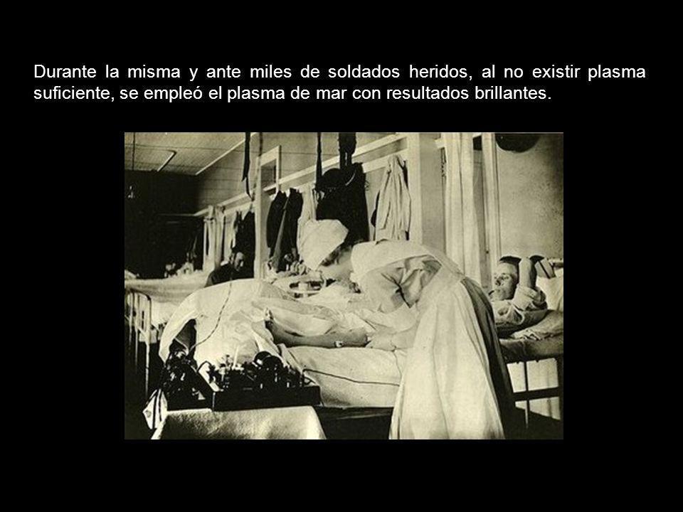 Pronto el plasma de Quinton curó gran número de enfermedades que se habían creído incurables y que la medicina de su tiempo y las técnicas de Pasteur