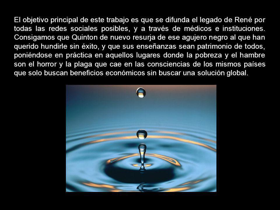 El mar y sus propiedades curativas y nutricionales es un legado que Quinton dejó para la humanidad, un legado que nos quieren quitar mediante la ignor