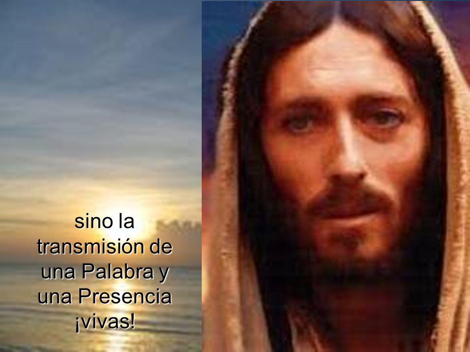 La catequesis de los primeros cristianos, la que hace Lucas con Teófilo, no consiste en contar cosas de Jesús,