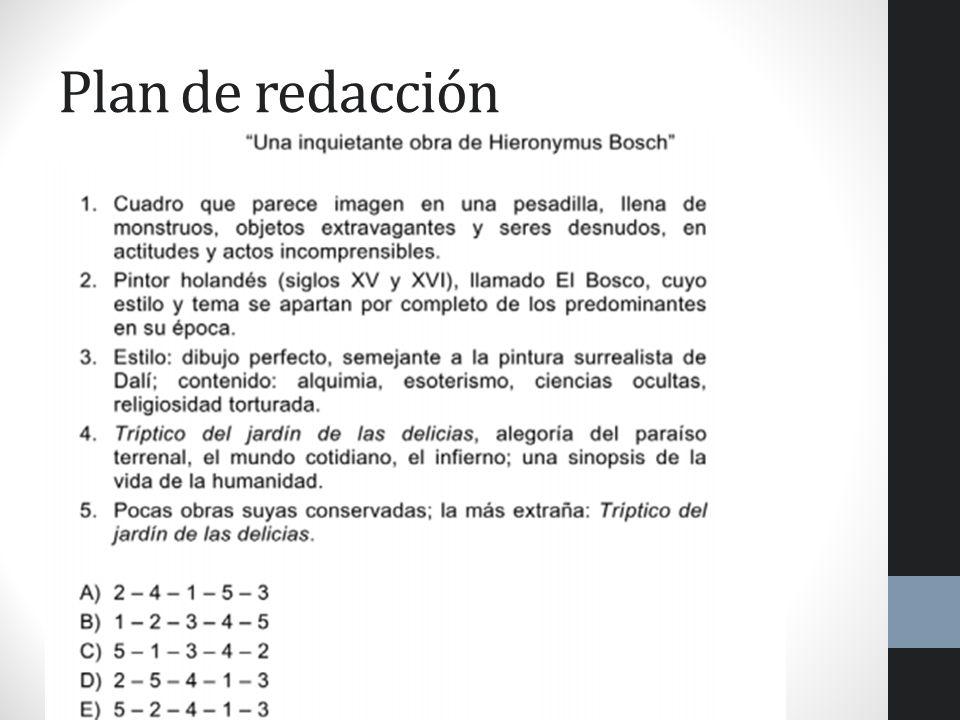 Soluciones 1. C 2. A 3. D